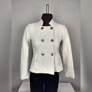 CAbi #3028 Charlie Jacket in Oatmeal size: XS